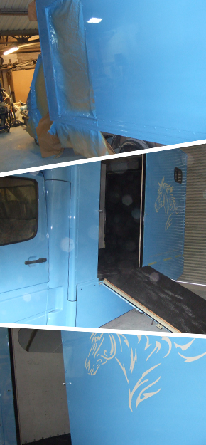Horsebox conversions by P&S Autos