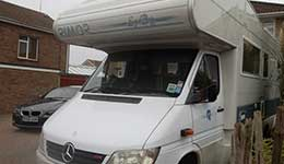 finished motorhome bodywork repairs by p&s autos